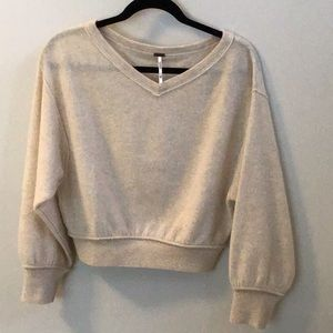 Free People Love Like this Cashmere Pullover XS